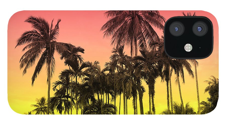 IPhone 12 Case featuring the photograph Tropical 9 by Mark Ashkenazi