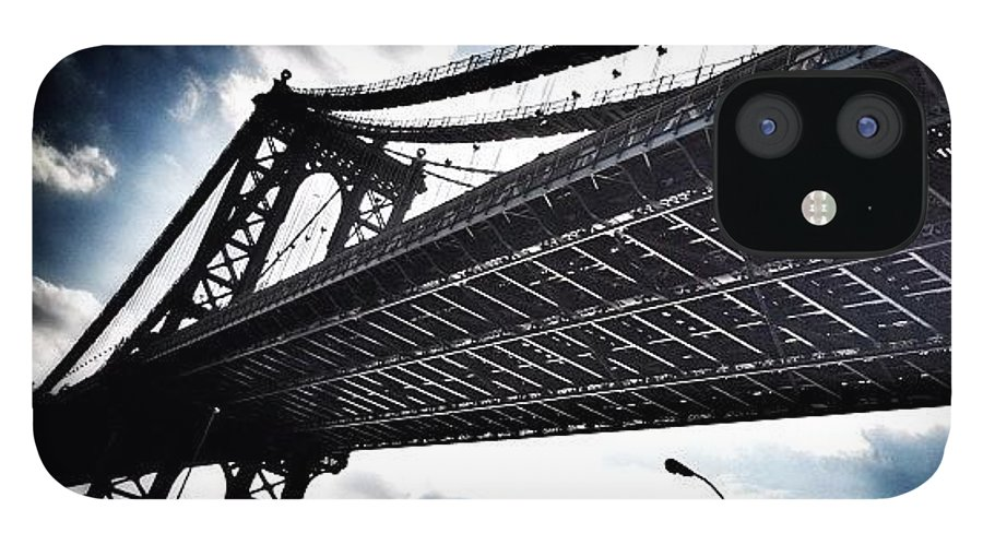 IPhone Case featuring the photograph Under The Bridge by Christopher Leon