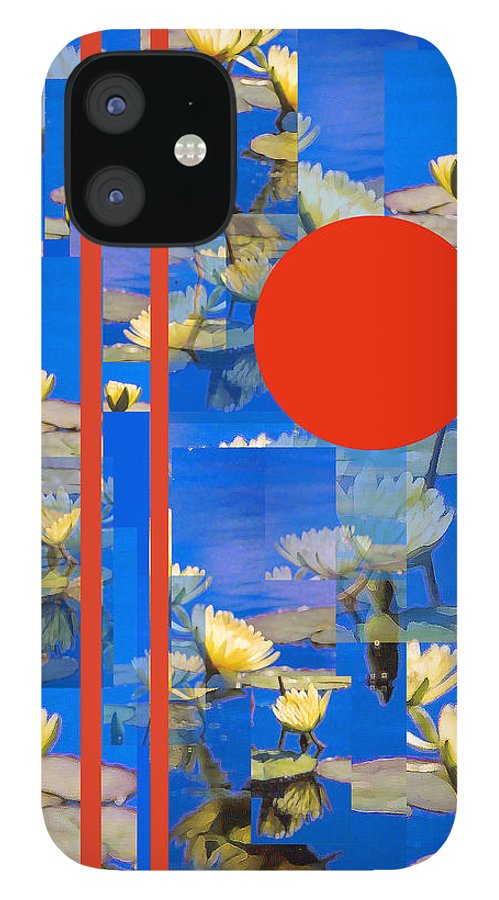 Flowers IPhone 12 Case featuring the photograph Vertical Horizon by Steve Karol