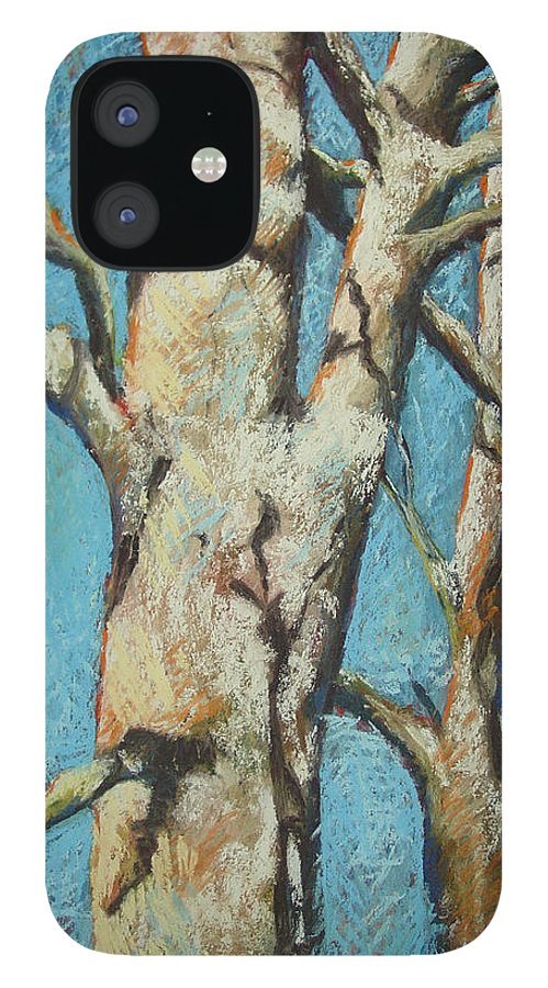 Pastel IPhone 12 Case featuring the painting Warming Light by Marlene Gremillion