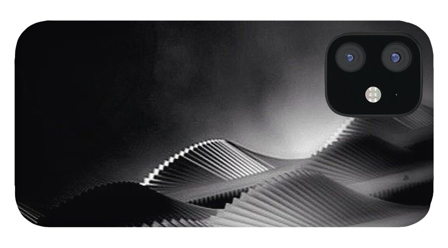 Rptw4ofblack IPhone 12 Case featuring the photograph Waves Of Steel - Concrete Jungle by Robbert Ter Weijden