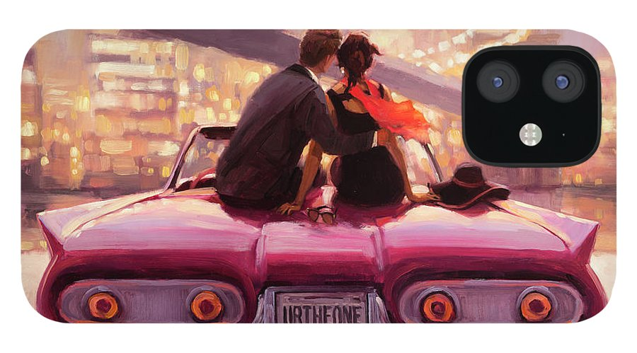 Love IPhone 12 Case featuring the painting You Are the One by Steve Henderson