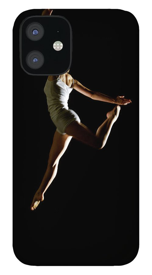 Ballet Dancer IPhone 12 Case featuring the photograph Ballet And Contemporary Dancers by John Rensten