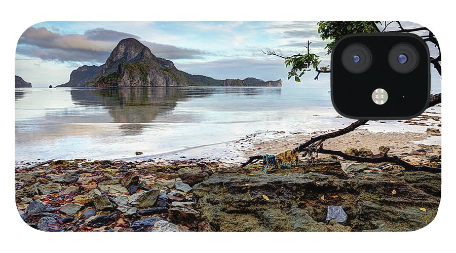 Water's Edge IPhone 12 Case featuring the photograph Beautiful El Nido Landscape by Vuk8691
