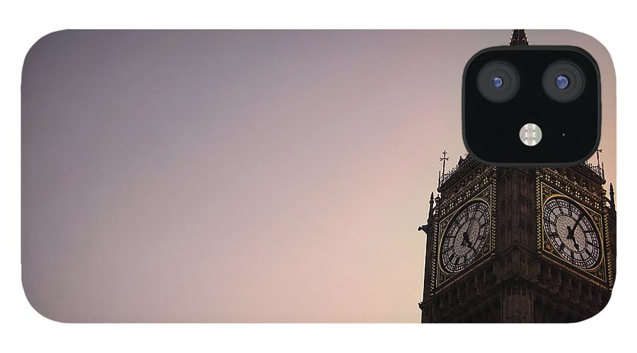 Clock Tower IPhone 12 Case featuring the photograph Big Ben Clock Tower by Sherif A. Wagih (s.wagih@hotmail.com)