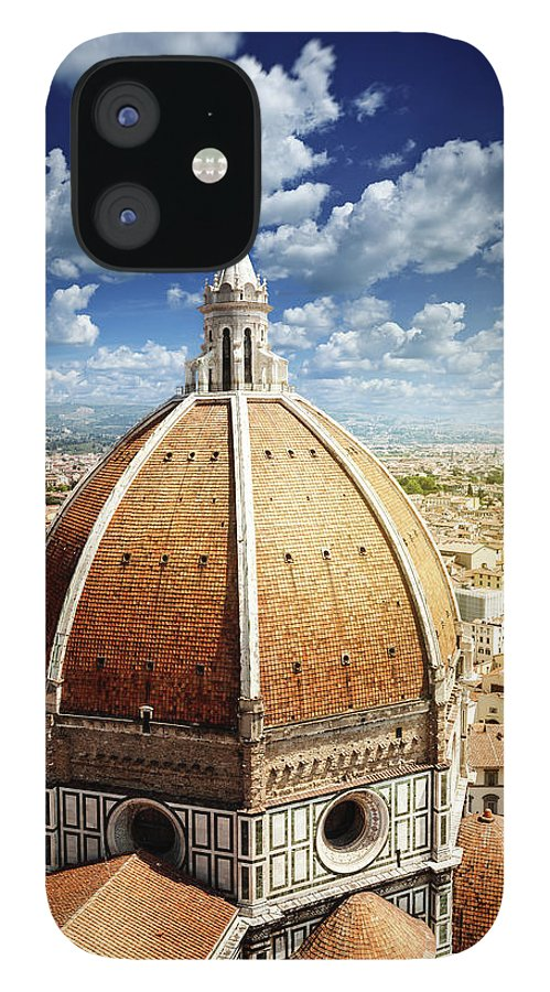 Scenics iPhone 12 Case featuring the photograph Duomo In Florence by Da-kuk