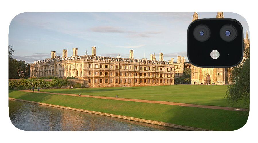 Shadow IPhone 12 Case featuring the photograph England, Cambridge, Cambridge by Andrew Holt