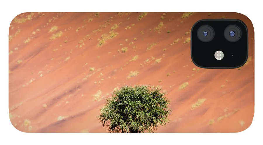 Tranquility IPhone 12 Case featuring the photograph Namib Desert by Manuel Romaris