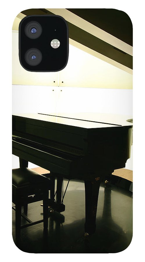 Piano IPhone 12 Case featuring the photograph Piano by Peterhung101