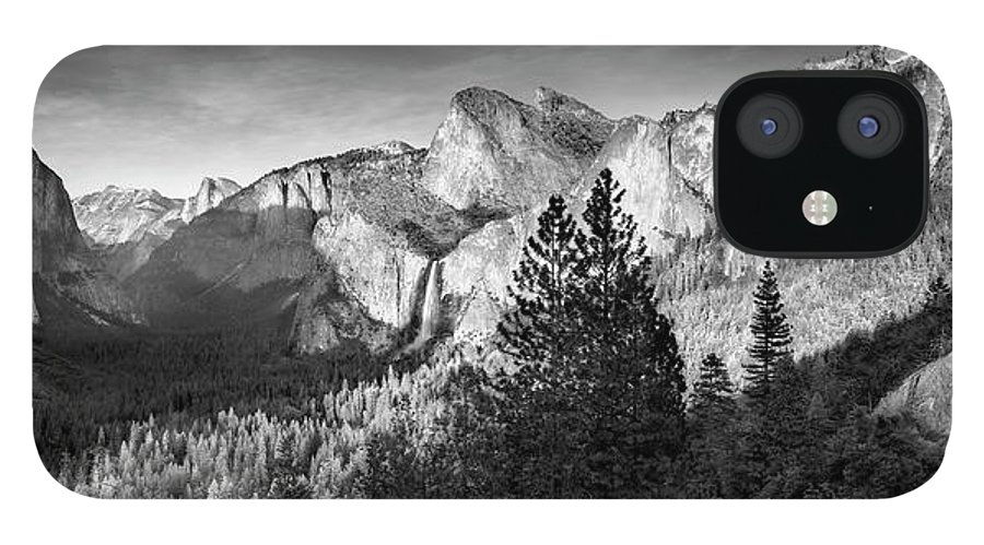 Scenics IPhone 12 Case featuring the photograph Rocky Mountains Overlooking Rural by Chris Clor