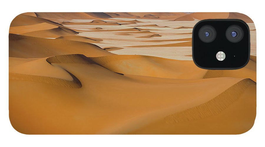 Tranquility iPhone 12 Case featuring the photograph Rub Al-khali Empty Quarter by All Rights Reserved For Ahmed Al-shukaili