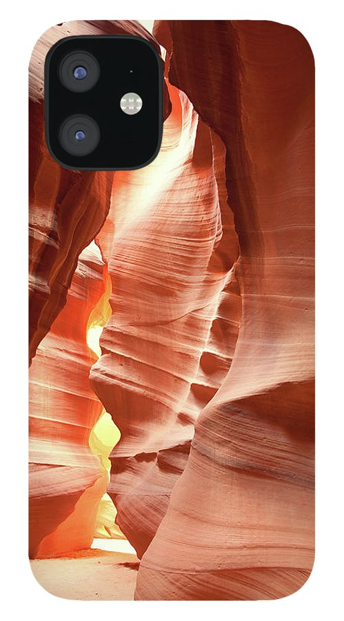 Toughness IPhone 12 Case featuring the photograph Slot Canyon by Colin Sands