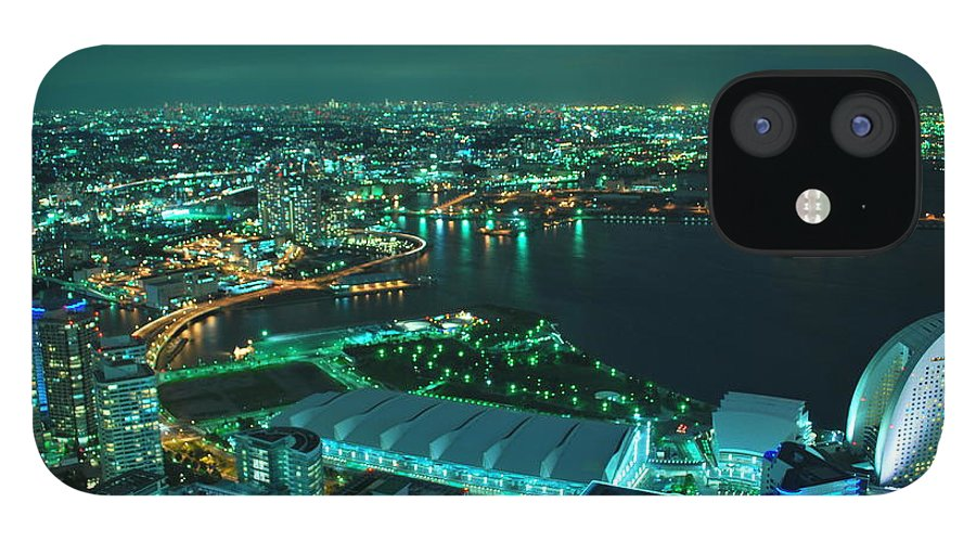 Yokohama IPhone 12 Case featuring the photograph Yokohama by Copyright Artem Vorobiev