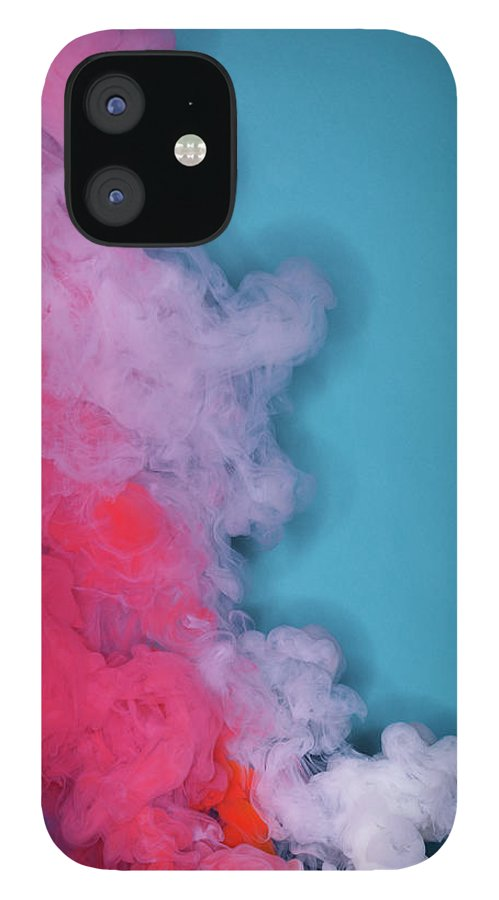 Motion iPhone 12 Case featuring the photograph Colored Smoke by Henrik Sorensen