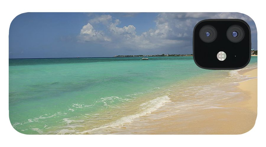 Scenics IPhone 12 Case featuring the photograph Caribbean Dream Beach by Shunyufan