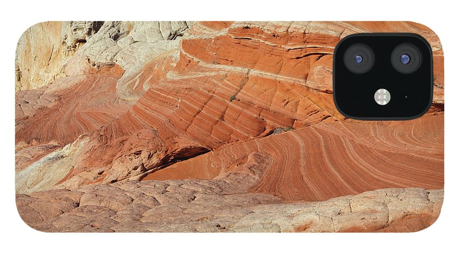 Scenics iPhone 12 Case featuring the photograph Desert Landscape by Lucynakoch