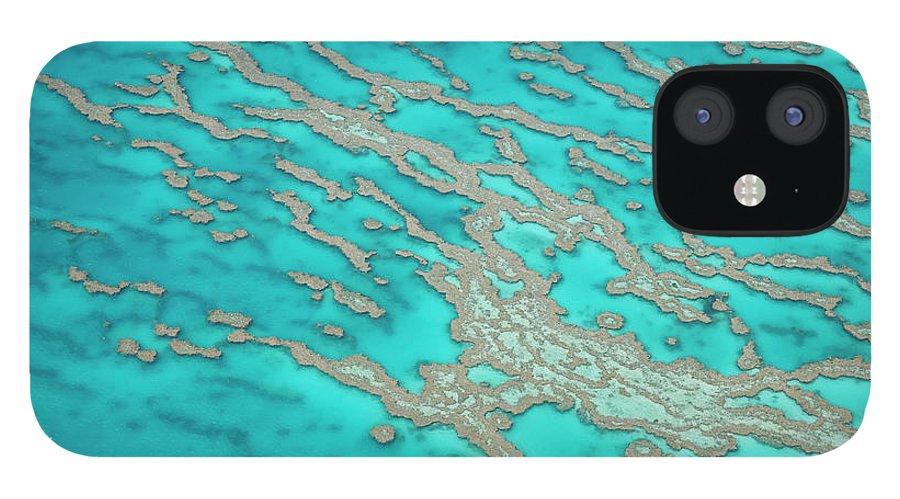 Tranquility IPhone 12 Case featuring the photograph Great Barrier Reef, Queensland by Peter Adams