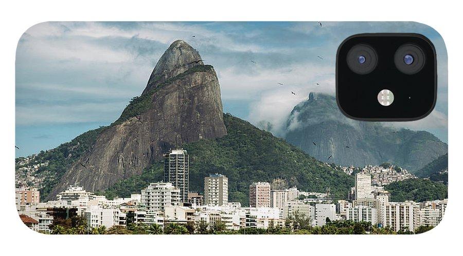 Majestic IPhone 12 Case featuring the photograph Lagoa Rodrigo De Freitas by Daniel Santacatalina