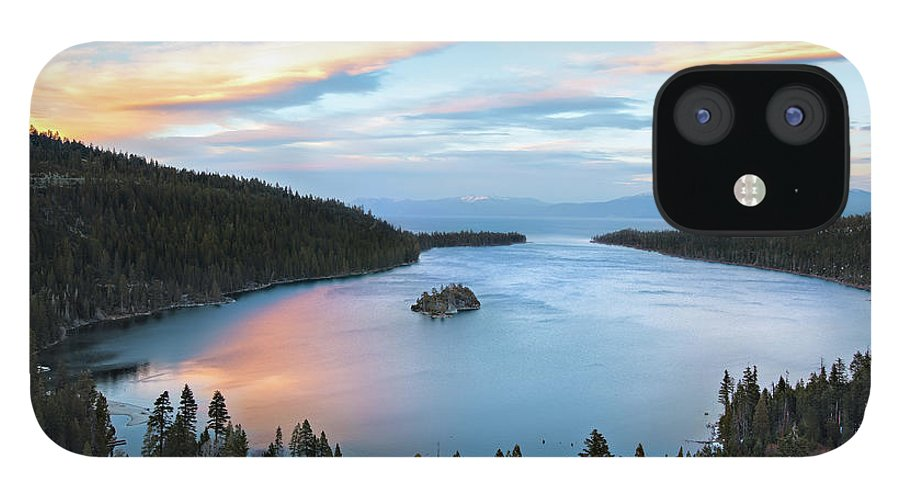 Scenics IPhone 12 Case featuring the photograph Lake Tahoe by Ropelato Photography; Earthscapes
