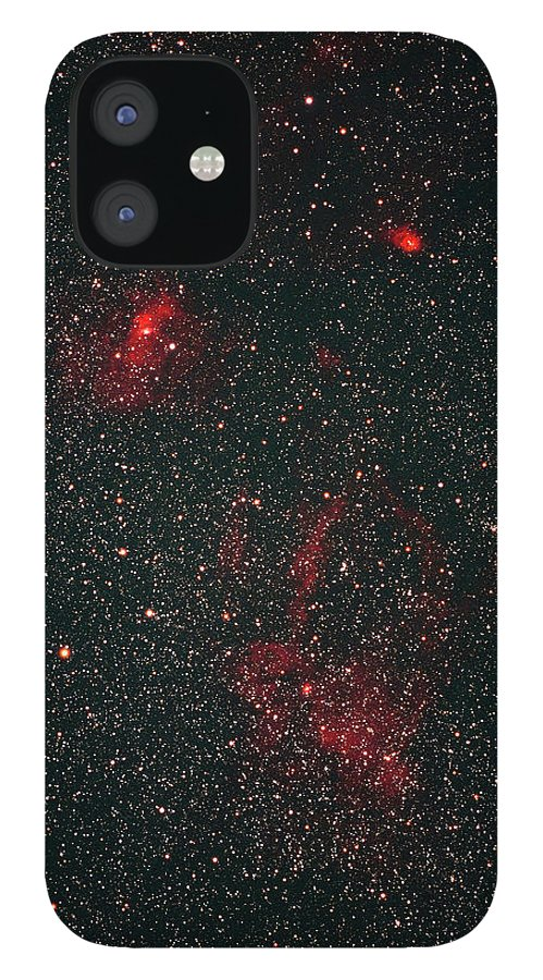 Black Color IPhone 12 Case featuring the photograph Nebula by Imagenavi