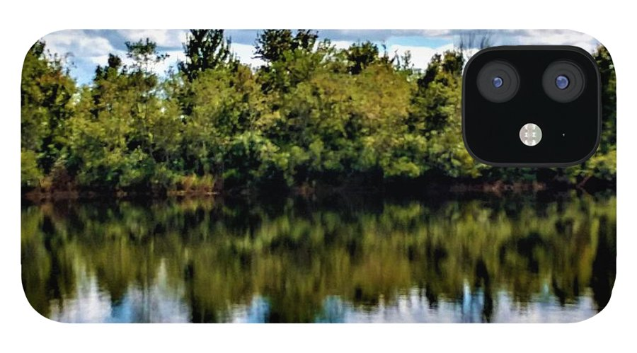 Water IPhone 12 Case featuring the photograph Tranquility by Jimmy Clark