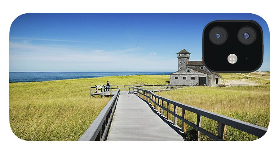Outdoors IPhone 12 Case featuring the photograph Usa, Massachusetts, Cape Cod by Walter Bibikow