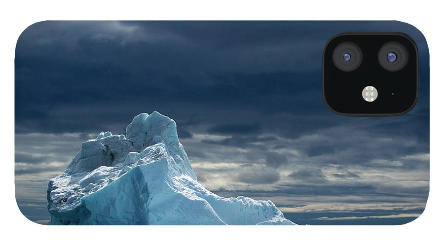Tranquility IPhone 12 Case featuring the photograph Icebergs, Disko Bay, Greenland by Paul Souders