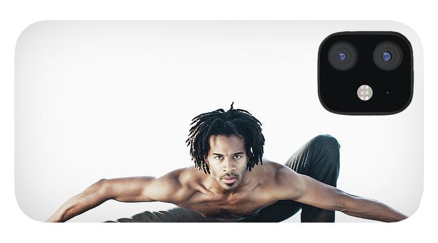 Torso IPhone 12 Case featuring the photograph Dance Studio by Patrik Giardino