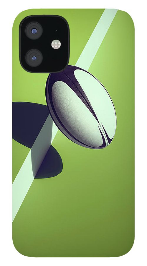Newcraft IPhone 12 Case featuring the photograph Sports Shadow by Kelvin Murray