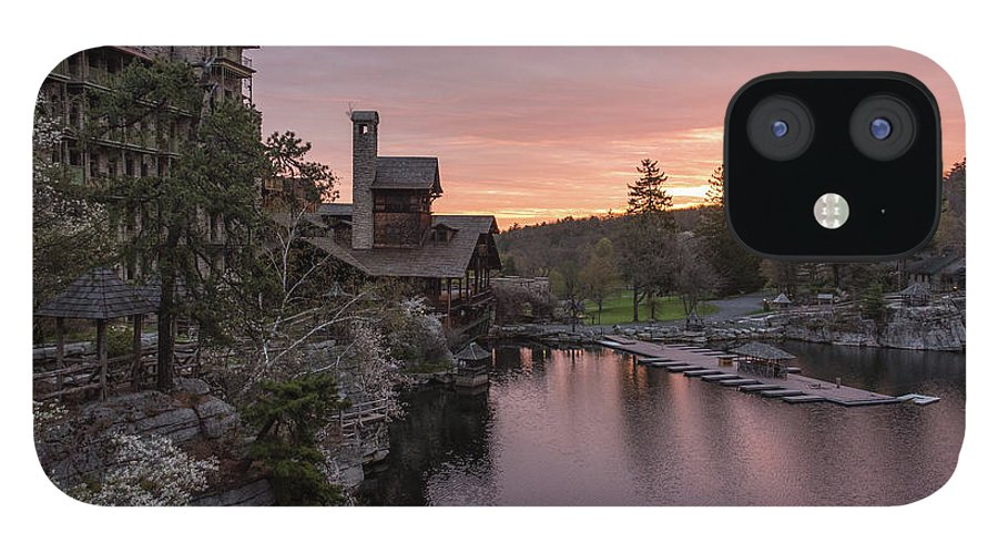 Mohonk Mountain House IPhone 12 Case featuring the photograph A New Day by Kristopher Schoenleber