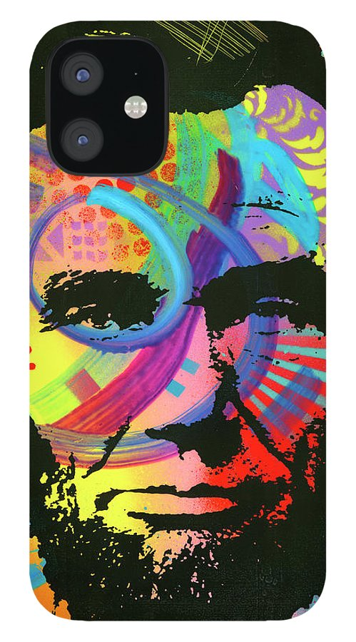 Abraham Lincoln Ii IPhone 12 Case featuring the mixed media Abraham Lincoln Yeah Bro by Dean Russo- Exclusive