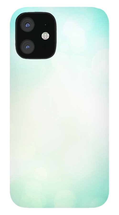 Particle IPhone 12 Case featuring the photograph Abstract Background With Defocused by Jasmina007