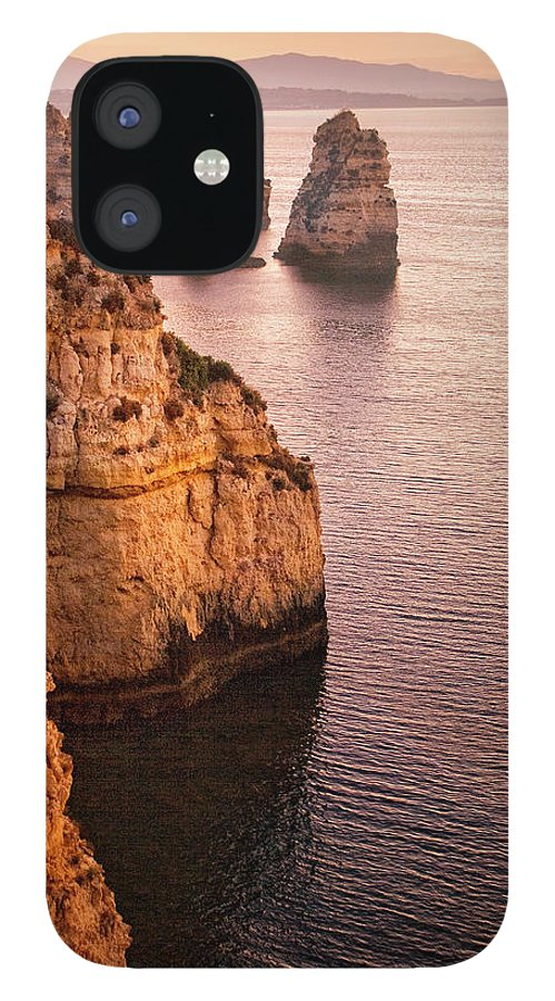 Algarve IPhone 12 Case featuring the photograph Algarve Coastline, Lagos, Portugal by Zu Sanchez Photography