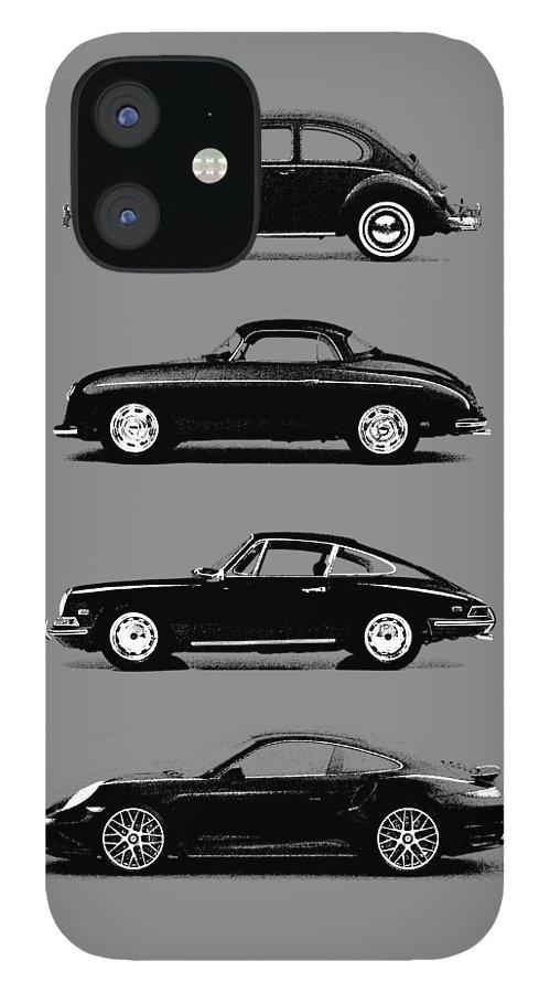 Porsche IPhone 12 Case featuring the photograph Evolution by Mark Rogan