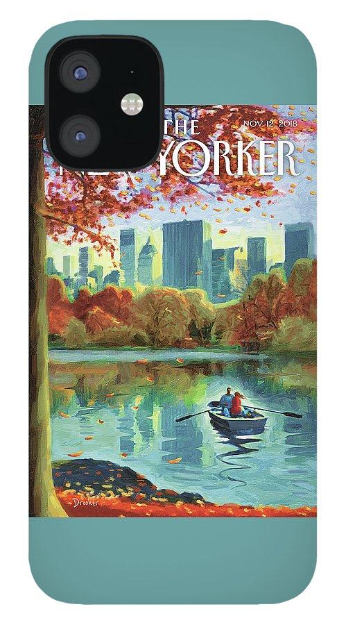 Autumn Central Park IPhone 12 Case