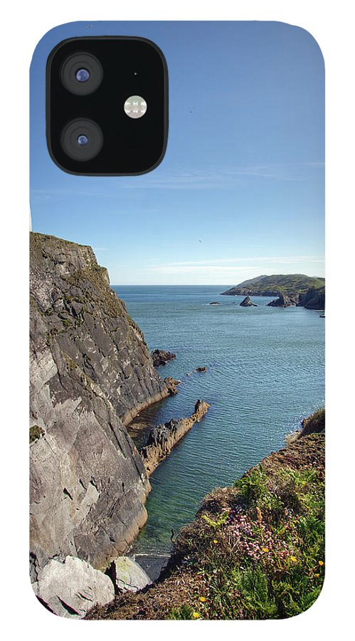Tranquility iPhone 12 Case featuring the photograph Baltimore Beacon by Keith Marshall