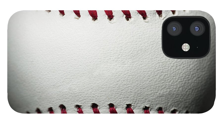 Ball iPhone 12 Case featuring the photograph Baseball by Pgiam