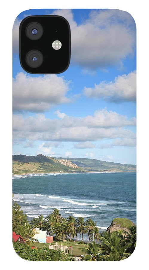 Scenics iPhone 12 Case featuring the photograph Bathsheba Bay, Barbados by Michele Falzone