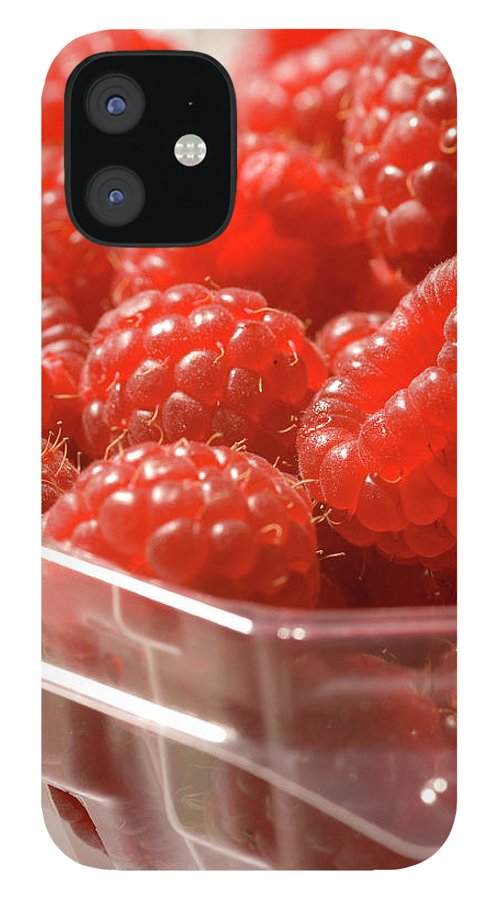 Lifestyles IPhone 12 Case featuring the photograph Berries In Carton by Gwmullis