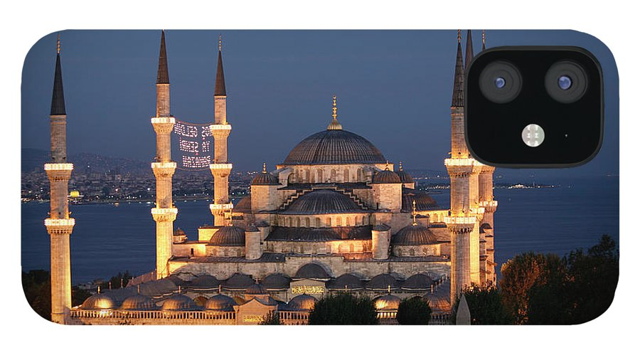 Istanbul iPhone 12 Case featuring the photograph Blue Mosque In Istanbul by Ayse Topbas