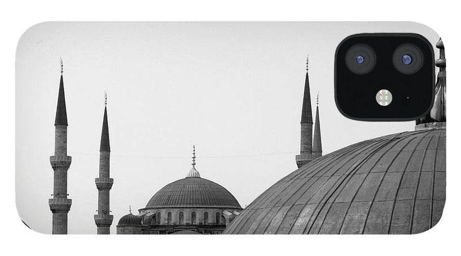 Istanbul iPhone 12 Case featuring the photograph Blue Mosque, Istanbul by Dave Lansley