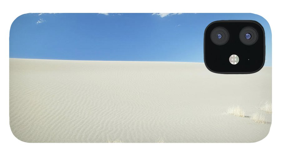 Sand Dune IPhone 12 Case featuring the photograph Blue Sky Over Sand Dune by Bryan Mullennix