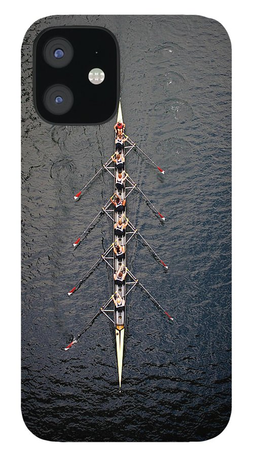 Viewpoint IPhone 12 Case featuring the photograph Boat Race by Fuse