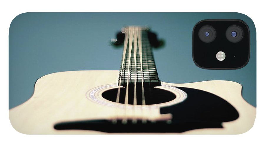 Music IPhone 12 Case featuring the photograph Bokeh String by George Bentley Photography