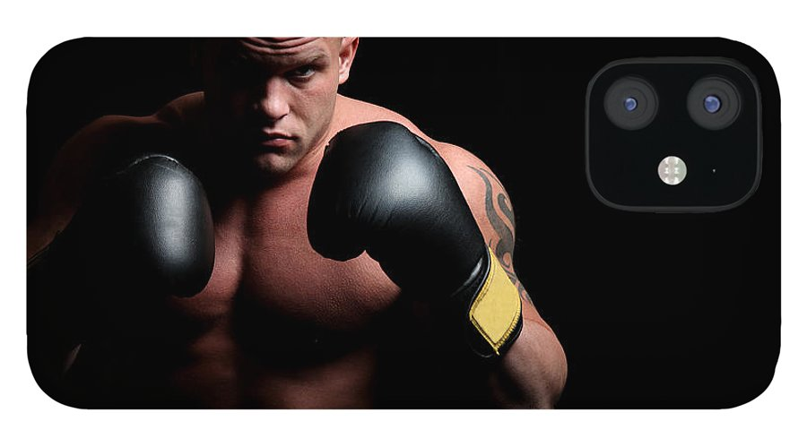 Toughness IPhone 12 Case featuring the photograph Boxer by Vuk8691