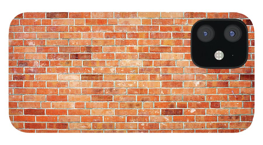 Toughness IPhone 12 Case featuring the photograph Brick Wall by Ballyscanlon