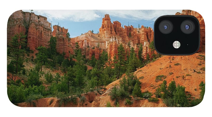 Scenics IPhone 12 Case featuring the photograph Bryce Canyon by Wsfurlan