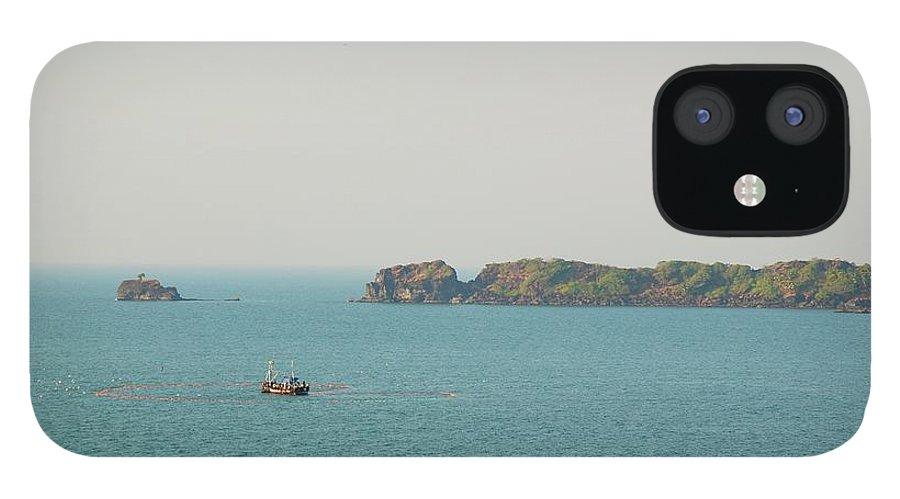 Scenics IPhone 12 Case featuring the photograph Cabo De Rama, Goa by Cranjam