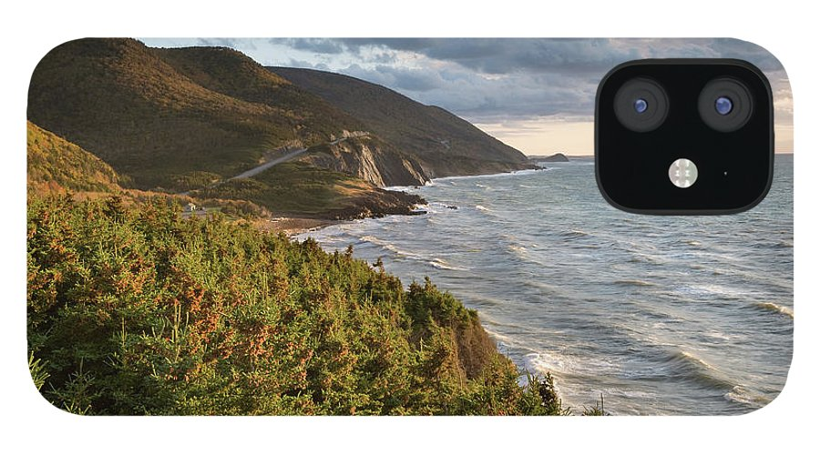 Scenics IPhone 12 Case featuring the photograph Cabot Trail Scenic by Shayes17