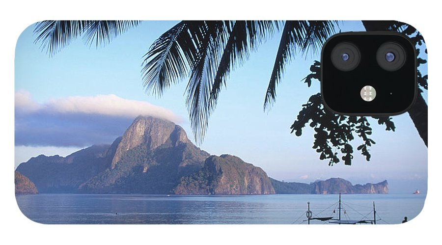 People IPhone 12 Case featuring the photograph Cadlao Island From El Nido, Sunrise by Dallas Stribley